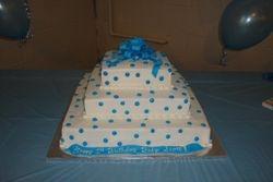 100 servings polka dot with ribbon $225