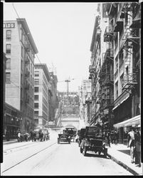 ANOTHER VIEW OF ANGELS FLIGHT, 1910