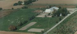 Overhead view of Farm 1990's