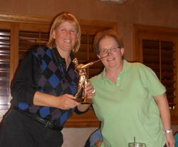 Most Improved Golfger 2010- Theresa Prospero