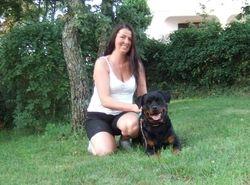 Linda and phoebe in Croatia