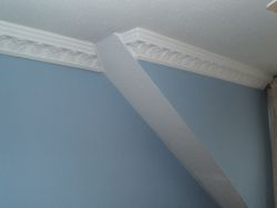wallpaper and coving