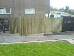 fence job