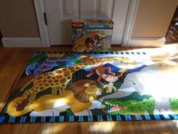Melissa & Doug 24pc Safari Social Floor Puzzle - $8