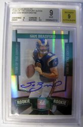 2010 Donruss Elite Sam Bradford Rookie Auto Card 8/199!!!