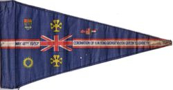 1937 Coronation Pennant
