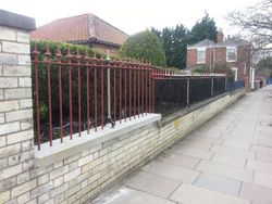Railings restoration