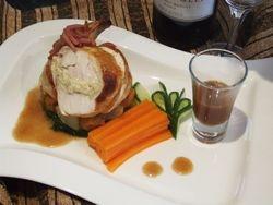 Chicken Supreme Ricotta and Bacon.