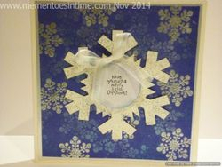 Snowflake Card Number Three