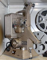 Keystone R-8 movie projector (8 mm) C. 1930's