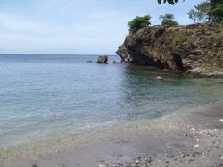The shell beach Carriacou