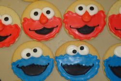 3 inch monster face cookies $3/each