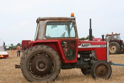 Classic MF 500 series tractor