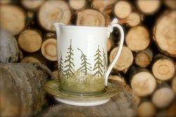 """""""Pine Forest"""" Gravy Pitcher Set ~ Photo 1"""
