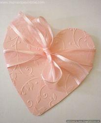 Free Folding Heart Template