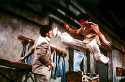 Jackie kicks out / Drunken Master 2