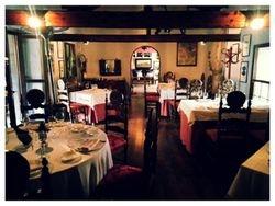Inside fine dining