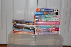 DVD's & VHSs