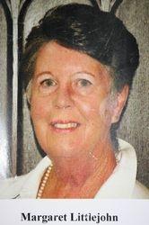 Margaret Littlejohn - deputy churchwarden