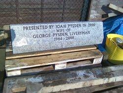 Granite Kerb in my workshop yard