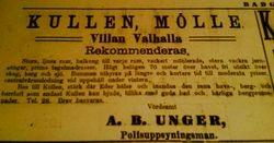 Villa Valhalla 1913