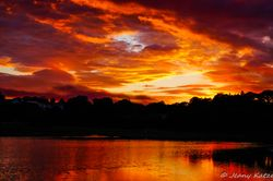 Sunset at Portree - Isle of Skye