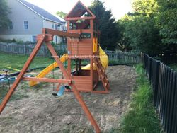 Cedar summit canyon ridge swing set assembly service in arlington VA