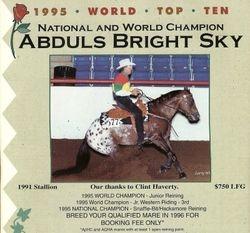 Abdul's Bright Sky