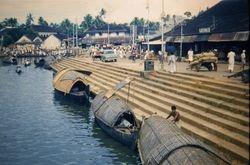 346 Canal scene Cochin India