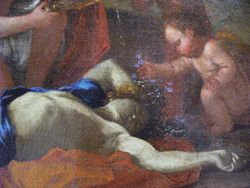 Poussin, Death of Adonis, detail, Rouen
