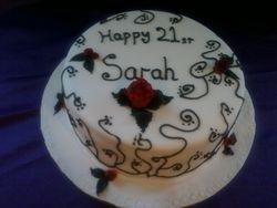 21rst birthday cake