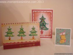 Trees and Stocking Cards