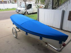 Small boat cover