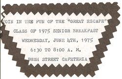 Senior Breakfast Ticket