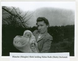 Helen and Blanche Shirk