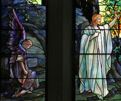 Tiffany, Resurrection and Noli Me Tangere, St. Johns Church, Franklin, PA