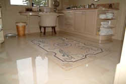 Mosaic Shower Floor