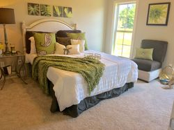 Staged Master Suite