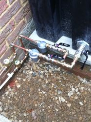 Oil pipe work by Ampthill Plumbing and Heating Ltd