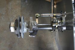 Halibrand front hubs and IH spindles