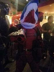 Sharky Deadpool (same cosplayer)