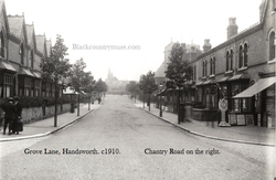 Grove Lane, Handsworth. c 1910.