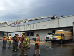 Commercial Fire / Hamrick's Retail 2015