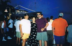 With Friends, Key West, Florida, 2001