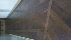 Hardwood Flooring Catwalk Angle