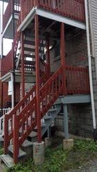 balcons et rampe a refaire