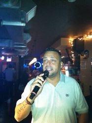 David G. paying us a visit at 502 Bar Lounge's Social Saturday Karaoke Night. This guy can sing and has fun while doing it!!