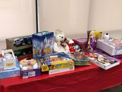 Our Toy drive donation