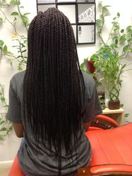 Extra Long Box Braids