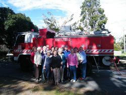 Whittlesea 2 Fire Truck mysteriously showed up for this great shot